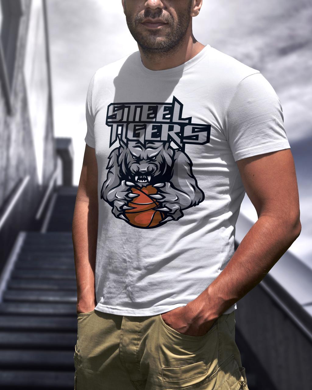 "Мужская футболка ""Street tigers"""
