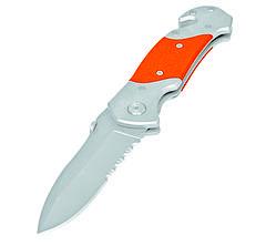 Нож складной со стропорезом 120мм