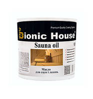 Олія для захисту деревини в саунах і банях Bionic House 0,8л