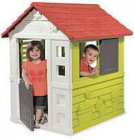 Игровой домик Дачный окошки со ставнями Smoby 810704