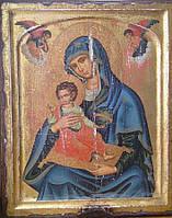 Икона Богородица с младенцем  ХХ -ый век