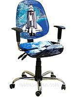 Кресло Бридж Хром Дизайн №19 Космос.
