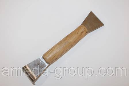 Стамеска пасечная 200 мм нержавеющая сталь, фото 2