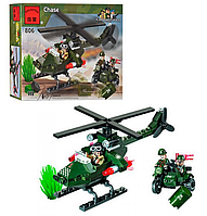 Конструктор «Brick» - «Chase»   «Вертолет»