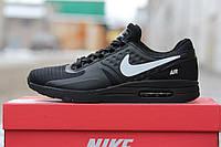 Крутые мужские  кроссовки  Nike Air Max Zero черные