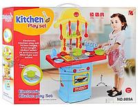 Детская игровая интерактивная кухня 889А
