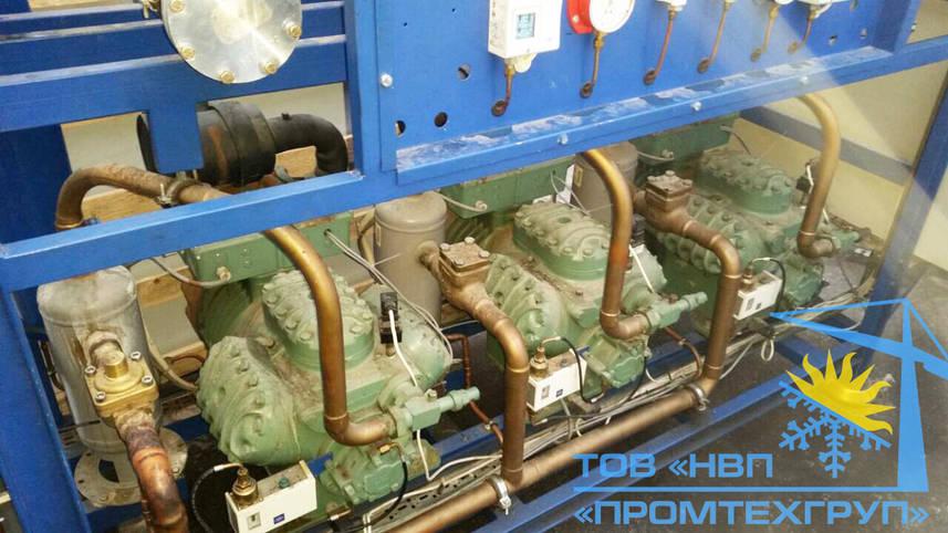 Холодильная установка Б/У Bitzer 3х 6G-30.2Y (Битцер 6GE-34Y 380,4 m3/h)