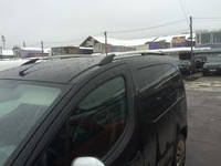 """Рейлинги Peugeot Partner Tepe 2008+  Тур. тип - Can Koruma, Чугунные ножки, цвет """"Хром"""""""
