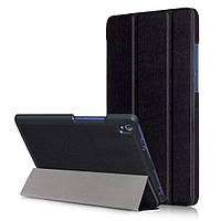 Чехол подставка Tri-fold Leather Smart для Lenovo Tab3 8 Plus черный