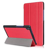 Чехол подставка Tri-fold Leather Smart для Lenovo Tab3 8 Plus красный