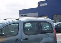 """Рейлинги Peugeot Partner Tepe 2008+  Crown (тип skyport), сплошный алюминий, цвет """"Серый мат"""""""