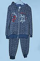 Теплый костюм для девочки 3-8 лет Field Style лазурный