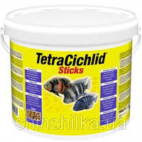 Tetra Cichlid Sticks  10L/2,9кг-Основной корм в виде палочек для всех видов цихлид (153691)