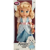 Куколка Золушка аниматор Дисней Disney Animators Collection Cinderella, высота 40 см