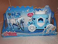 Карета  с лошадью снежной королевы