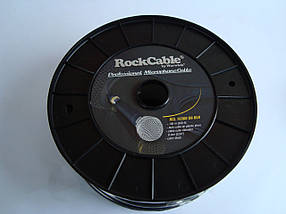 Микрофонный кабель RockCable RCL 10300 D6 BLK - диаметр 6мм - 1 жила в экране , фото 2