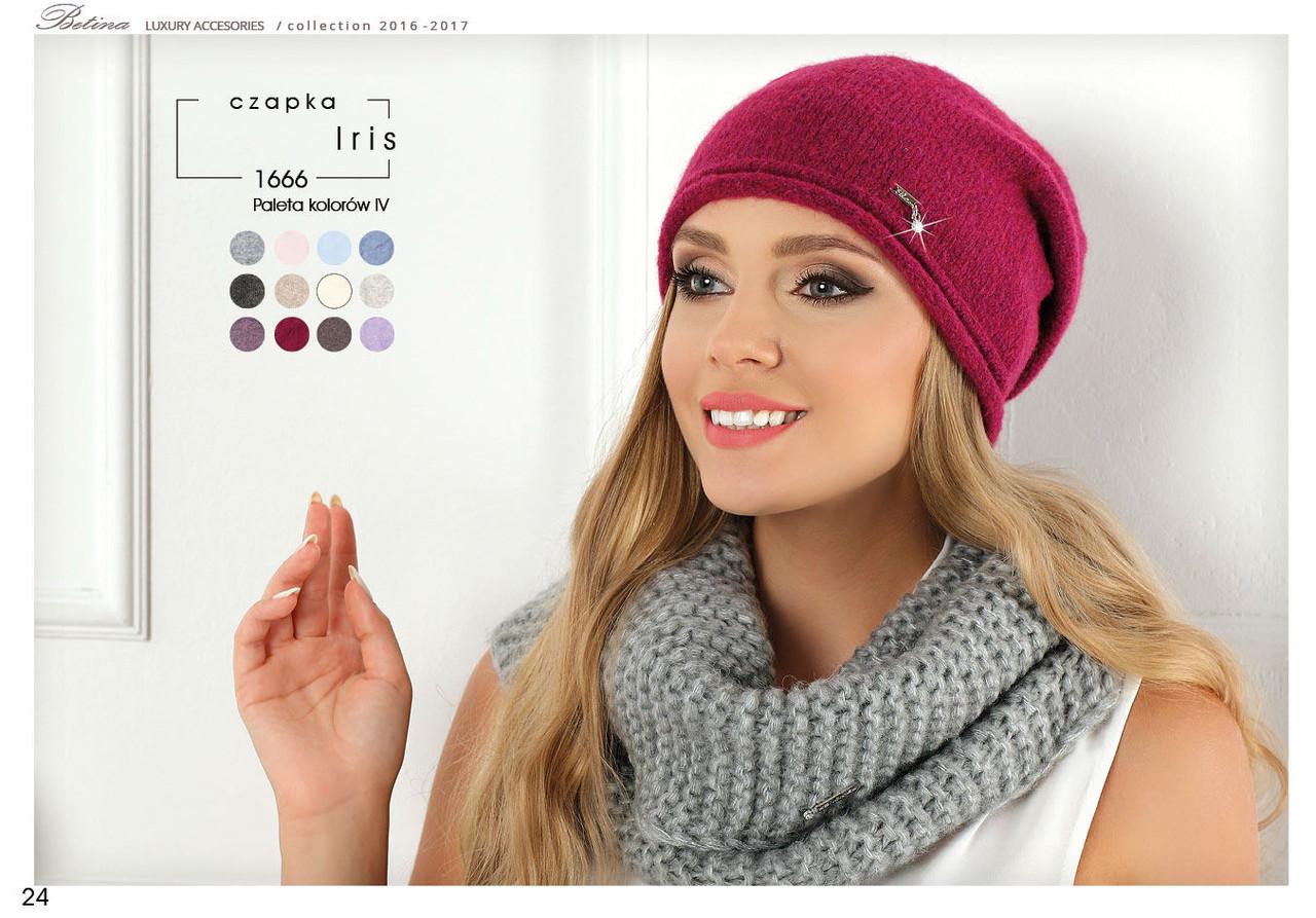 Модна і стильна шапочка колекції Betina Польща