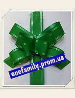 Зелёный большой Бант стяжка