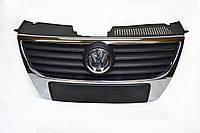 Решётка радиатора VW Passat B6 (2005-2010) 3C0853651; Фольксваген Пассат Б6 решётка радиатора