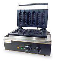 Аппарат КОРН-ДОГ CM6 для приготовления вафли на палочке GoodFood