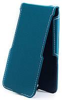 Чехол Status Flip для Huawei Ascend G700 Turquoise