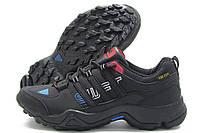 Кроссовки мужские Adidas Gore-Tex черные (адидас)