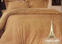 Комплект постельного белья из жаккарда love you евро 1-14