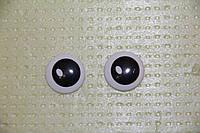 Глазки рисованные,  d 25   мм.   №1175(г41*15)
