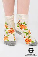 Шерстяные носки подростковые, 32-37 р, фото 1