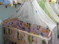 Комплект постельного детского белья в кроватку