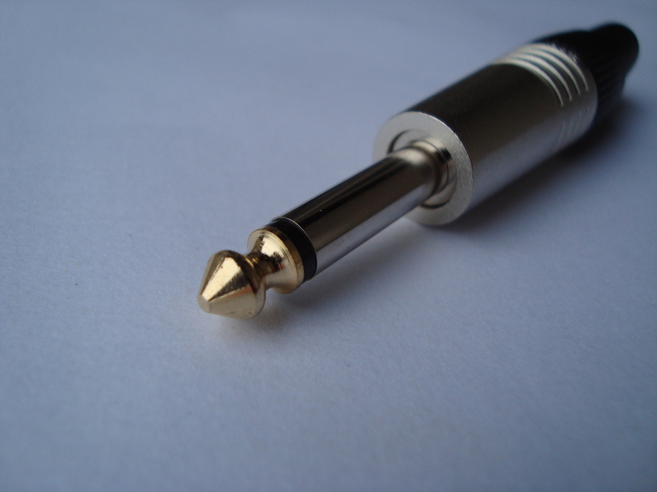 Штекер Jack 6.3 RockCable для пайки на кабель (mono)