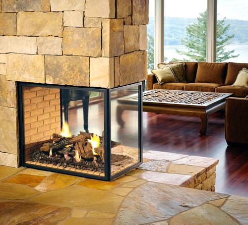 Огнеупорное стекло для камина NEOCERAM GLASS®
