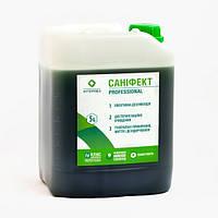 Универсальное безопасное жидкое дезинфекционное средство Санифект 5 л. (Интердез), фото 1
