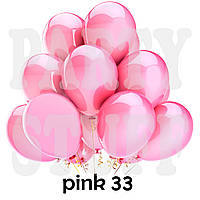 Воздушные шарики Gemar GM90 металлик розовый 10' (26 см) 100 шт