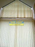 ЖАЛЮЗІ ВЕРТИКАЛЬНІ В ОФІС, КВАРТИРУ НА БАЛКОН з шириною ламелі 127мм тканина Line8004, фото 2