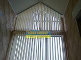 ЖАЛЮЗИ ВЕРТИКАЛЬНЫЕ В ОФИС, КВАРТИРУ НА БАЛКОН с шириной ламели 127мм ткань Line8004, фото 4