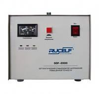 Стабилизатор напряжения Rucelf SDF-2000 (2000 Вт) электромеханический (для квартиры)