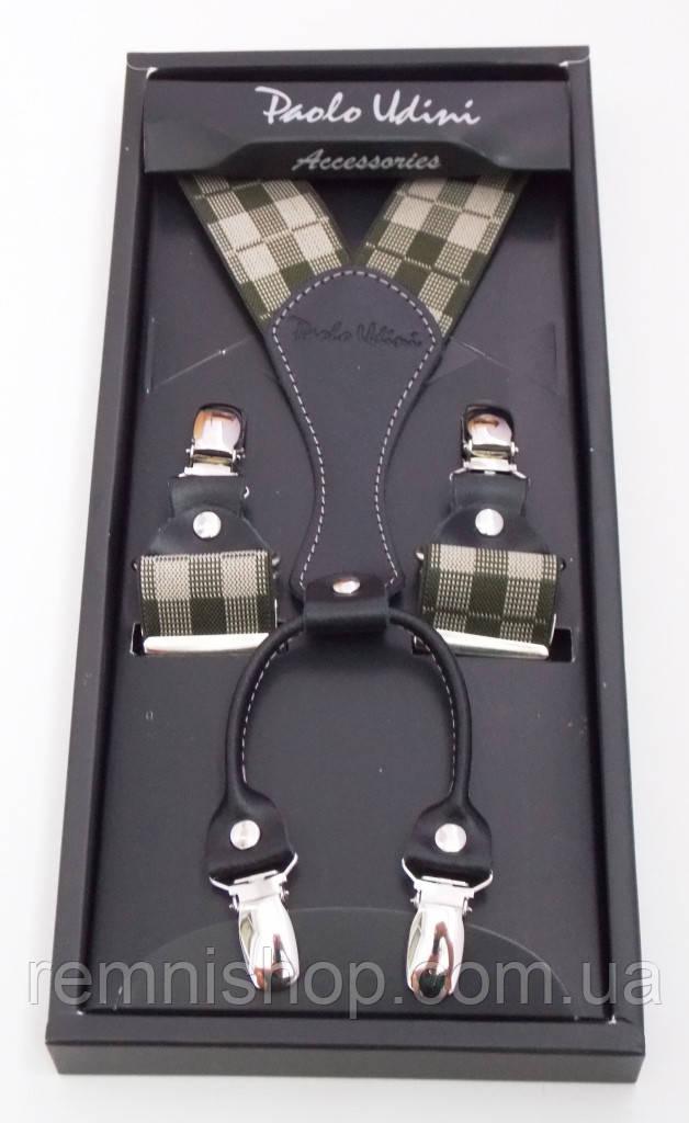 Подтяжки мужские для джинс или брюк Paolo Udini