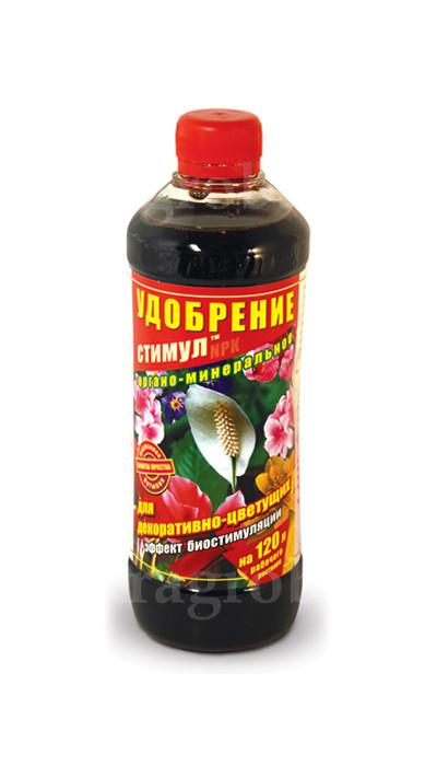 Органо-минеральное удобрение для цветущих 500 мл