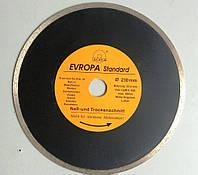 Диск алмазный по плитке черный Evropa 230*25.4 мм