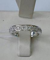 Срібне кільце з фіанітами Доріжка, фото 1