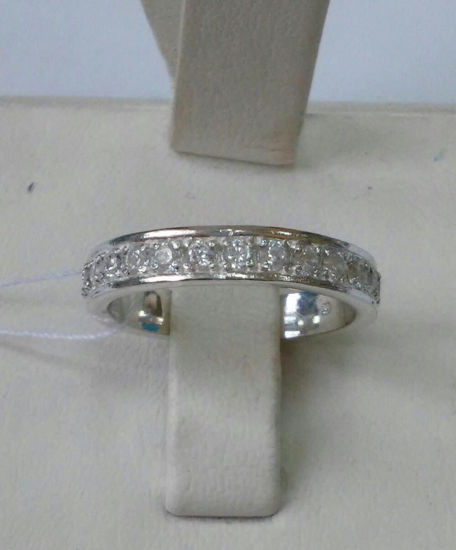 f1d6be677ea5 Серебряное кольцо с фианитами Дорожка, цена 370 грн., купить в ...