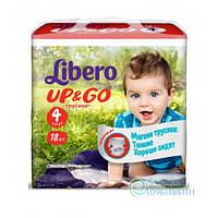 Подгузники Libero Up & Go 4 Maxi От 7 До 11 Кг 18 Шт