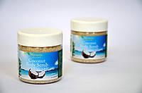 Кокосовый сахарно-соляной скраб для тела и лица  TM Blumarine