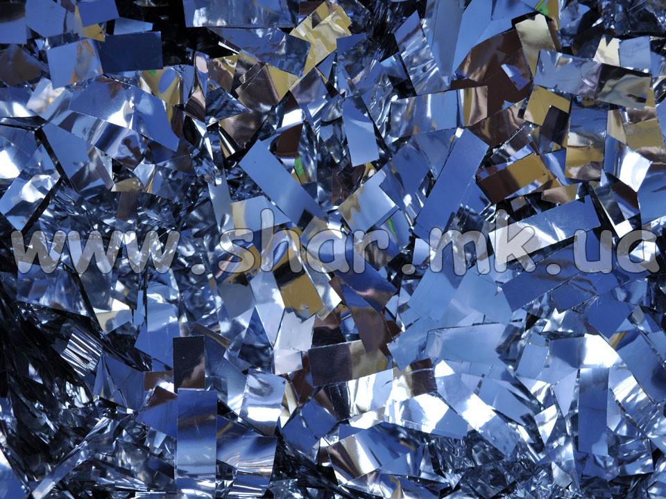 Метафан сріблястий, двосторонній