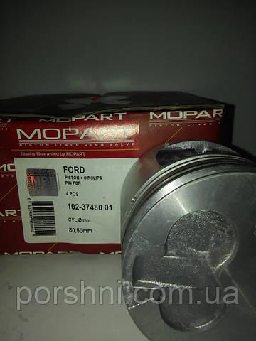 Поршни  80 + 0.5  ( 2 x 2 x 3 )  Escort  1,6 D   без колец  Mopart  374801