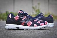 Кроссовки женские Adidas ZX Flux Rose Style