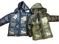 Зимняя дутая куртка на меху 3,4 года