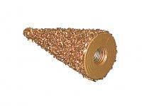 Конус шероховальный бронзовый d 25мм х 50мм К18