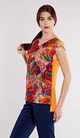 Блуза из штапеля, размер 42 код 3761М